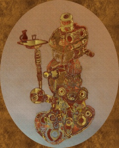 Steampunk Automoton