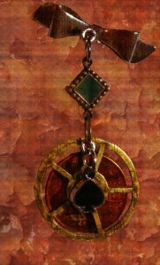 Steampunk Alice Pin b