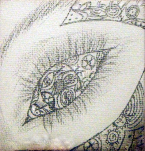 Steampunk Eye Drawing the Third