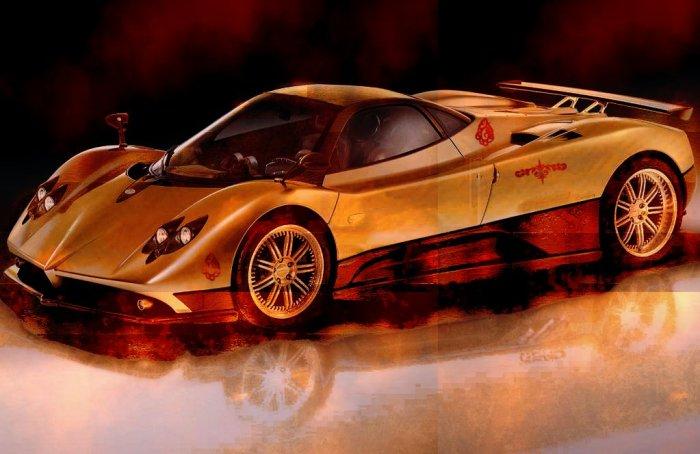 Steampunk Supercar