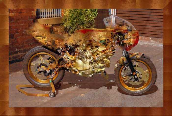 Steampunk Ducati TT2