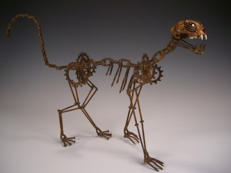 Very neat, but it was an unusual direction for a clockwork cat.