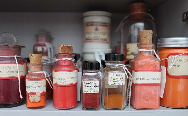 Harvard University Harvard Art Museums Forbes Pigment Collection